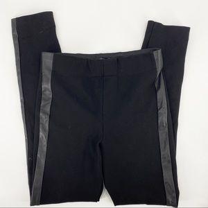 Zara black high waisted black leggings